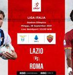 Prediksi Lazio vs AS Roma: Rapor Impresif I Biancoceleste di Stadion Olimpico
