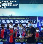 TSI Bandung Juara TopSkor Cup U-14, M Rifal Al Fathir Sabet Gelar Pemain Terbaik