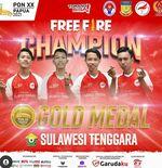 Sulawesi Tenggara Raih Gelar Juara di PON XX Papua 2021 Esports Free Fire