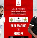 Prediksi Real Madrid vs Sheriff: Los Blancos, Waspada atau Disengat Lebah!