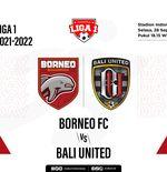 Prediksi Borneo FC vs Bali Unted: Duel Dua Tim yang Pernah Puncaki Klasemen