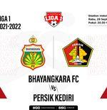 Hasil Bhayangkara FC vs Persik: Jinakkan Macan Putih, The Guardian Rebut Puncak Klasemen