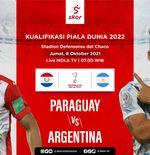 Link Live Streaming Paraguay vs Argentina di Kualfiikasi Piala Dunia 2022