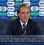 VIDEO: Roberto Mancini Tak Masalah dengan Kekalahan Italia dari Spanyol