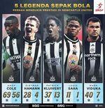 5 Legenda Sepak Bola Pernah Mengukir Prestasi di Newcastle United, Ada Keturunan Indonesia