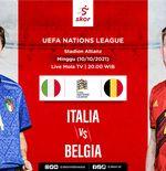Prediksi Italia vs Belgia: Pertaruhan Harga Diri Juara Eropa vs Peringkat Satu Dunia