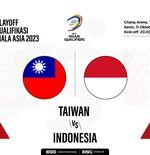 Timnas Taiwan vs Timnas Indonesia: Prediksi dan Link Live Streaming