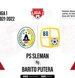 Hasil PSS Sleman vs Barito Putera: Elang Jawa Sukses Akhiri Tren Tanpa Kemenangan