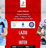 Link Live Streaming Lazio vs Inter Milan di Liga Italia