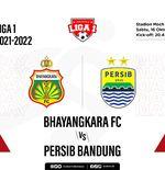 Hasil Bhayangkara FC vs Persib: The Guardian Rasakan Kekalahan Pertama