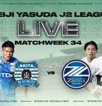 Link Live Streaming J.League: Blaublitz Akita vs FC Machida Zelvia