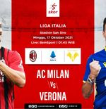 Link Live Streaming AC Milan vs Hellas Verona di Liga Italia