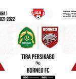 Tira Persikabo vs Borneo FC: Prediksi dan Link Live Streaming