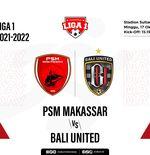 Hasil PSM Makassar vs Bali United: Diwarnai Dua Penalti, Serdadu Tridatu Telan Kekalahan Perdana