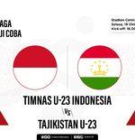 Hasil Timnas U-23 Indonesia vs Tajikistan: Comeback, Garuda Muda Kalahkan Tuan Rumah