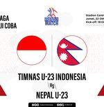Hasil Timnas U-23 Indonesia vs Nepal: Garuda Muda Raih Kemenangan Kedua