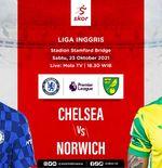 Link Live Streaming Chelsea vs Norwich City di Liga Inggris