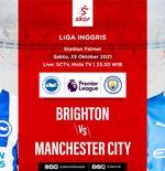 Link Live Streaming Brighton & Hove Albion vs Manchester City di Liga Inggris