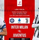 Link Live Streaming Inter Milan vs Juventus di Liga Italia