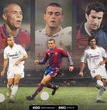 Sambut El Clasico, Ini 10 Pemain yang Pernah Bela Barcelona dan Real Madrid