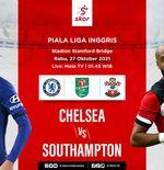 Prediksi Chelsea vs Southampton: Banyak Bintang Absen, The Blues Turunkan Tim Lapis Kedua