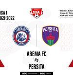 Hasil Arema FC vs Persita: Lengah Menit Akhir, Singo Edan Gagal Menang