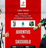 Prediksi Juventus vs Sassuolo: Si Nyonya Tua Wajib Menang demi Masuk 5 Besar