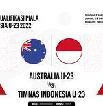 Australia vs Timnas U-23 Indonesia: Prediksi dan Link Live Streaming
