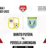 Barito Putera vs Persela: Prediksi dan Link Live Streaming