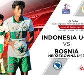 Hasil Timnas U-19 Indonesia VsBosnia-HerzegovinaU-19: Garuda MudaKalah Lawan 10 Pemain
