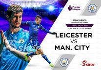 VIDEO: Deretan Gol Terbaik Manchester City Melawan Leicester City