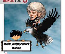 Skortun, Khabib Nurmagomedov memutuskan pensiun.