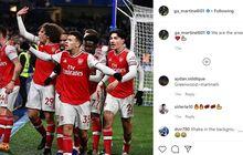 Gabriel Martinelli Bisa Jadi Penerus Thierry Henry dan Robin van Persie di Arsenal