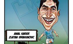 Skortun, perjalanan karier Zlatan Ibrahimovic sejak awal.