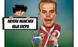 Skortun, Bayern Munchen menjadi juara Liga Champions 2019-2020.