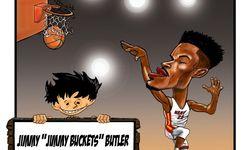 Skortun, Jimmy Butler adalah salah satu pemain Miami Heat.