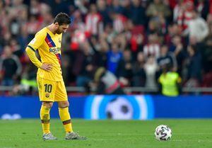 Tahun 2020, Musim Dingin Terburuk Lionel Messi