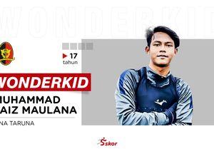 WONDERKID: Faiz Maulana, Striker Lincah Pembobol Gawang Leeds United U-18 Tiga Kali