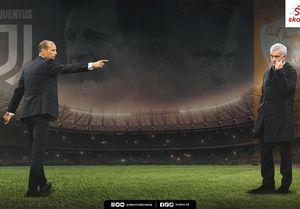 Juventus vs AS Roma: Beda Massimiliano Allegri dan Jose Mourinho, Termasuk soal Gaji