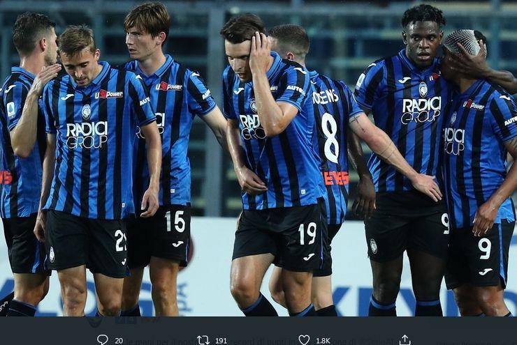 Hasil Liga Italia: Atalanta Susah Payah Taklukkan Parma