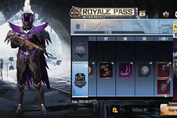 Tiga Skin Senjata yang Bisa Didapatkan dari Royale Pass Musim ke-16 PUBG Mobile