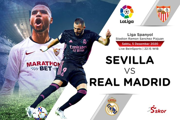 Prediksi Liga Spanyol: Sevilla vs Real Madrid