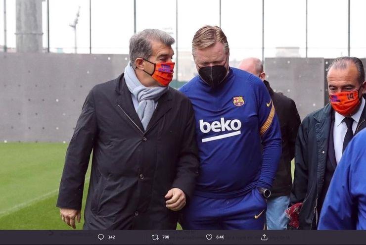 4 Perseteruan Pelatih vs Presiden di Barcelona