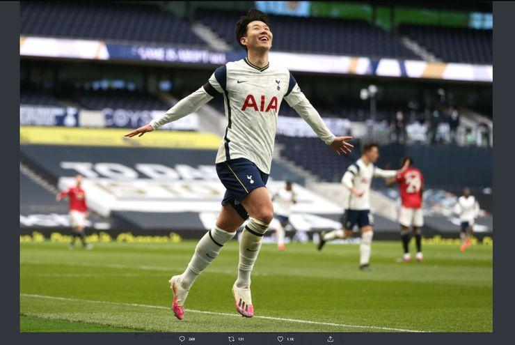 VIDEO: Kekecewaan Son Heung-min terkait Kekalahan Tottenham dari Manchester United