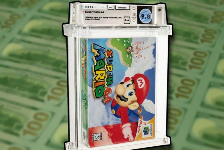 Kaset Super Mario 64 DS Terjual Rp22 Miliar
