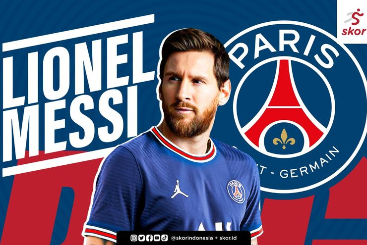 Jomplang, Perbandingan Gaji Lionel Messi di PSG dengan Prize Money Turnamen Bulu Tangkis Dunia
