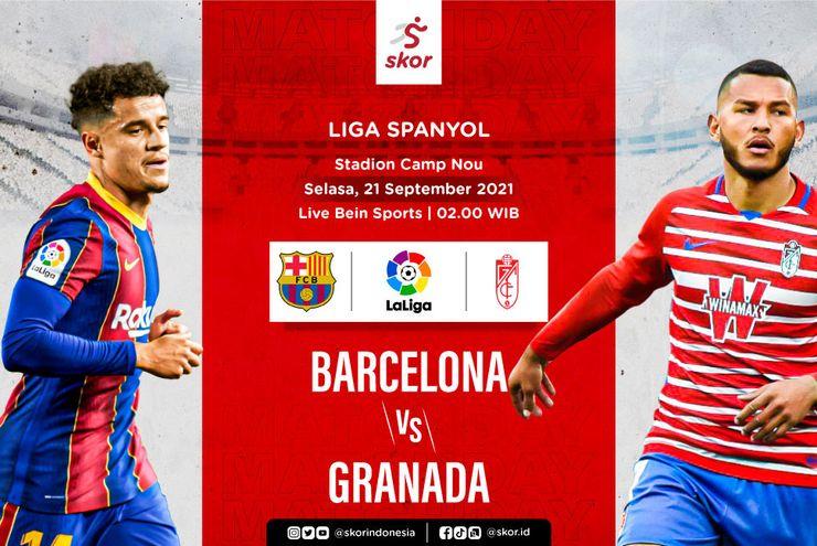 Link Live Streaming Liga Spanyol Hari Ini: Ada Barcelona vs Granada