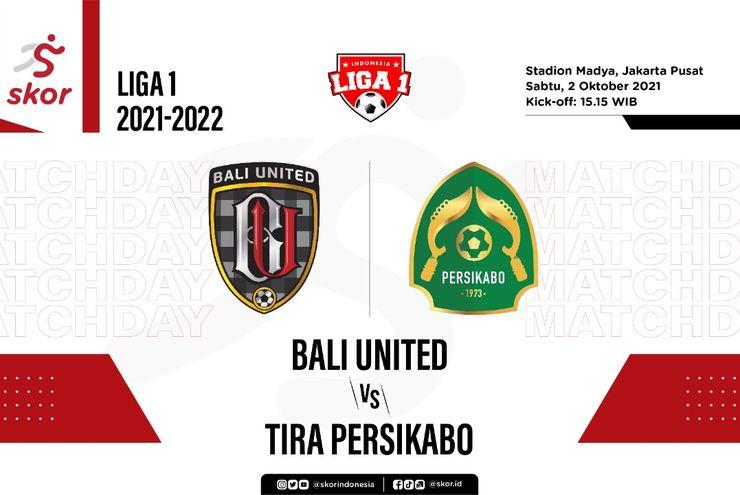 Hasil Bali United vs Tira Persikabo: Pemain Pengganti Selamatkan Serdadu Tridatu