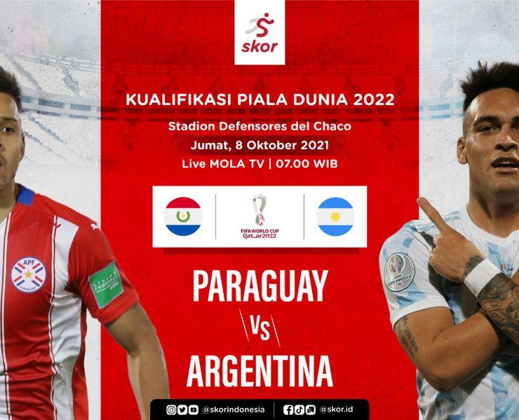 Prediksi Paraguay vs Argentina: Tim Tuan Rumah Usung Misi Balas Dendam