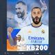 Karim Benzema Tembus 200 Gol di Liga Spanyol, Diprediksi Rebut Pichichi Musim Ini